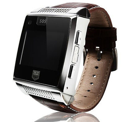 New Unlocked Bluetooth GPS GSM MP3 MP4 Game Touchscreen Wrist Watch Mobile Phone