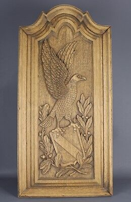 Antique Carved wood Panel 19th