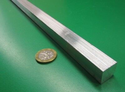 "6061 T651 Aluminum Square Bar, (.625"") 5/8"" Thick x 5/8"" Wide x 36"" Length"