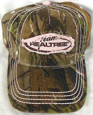 Outdoor Cap Team Realtree Womens Ladies Pink Camo Hat Hunting Camping Hiking H1