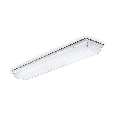 Enclosed Linear Fluorescent, 2 Lamp, 17W