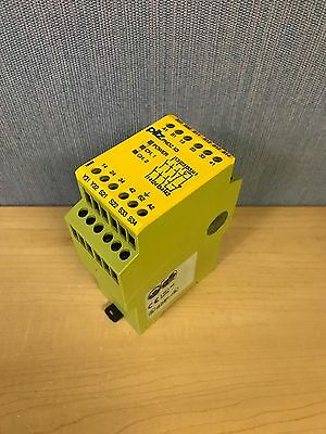 Pilz Pnoz X3 Safety Relay 120VC 24VDC 3n/o 1n/c 1so (10344)