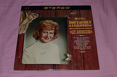 Liz Anderson - My Friends Are Gonna Be Strangers - Country LP - FAST SHIPPING!!
