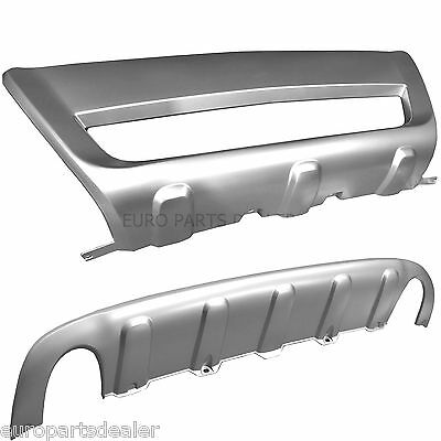 Volvo XC60  Style Rear and Front Skid Plate Bumper Protector  2008-2011 + CLIPS