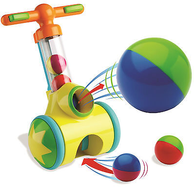 Tomy Play To Learn Pic n Pop Learning Walker Toddler Ball Game Activity T71161