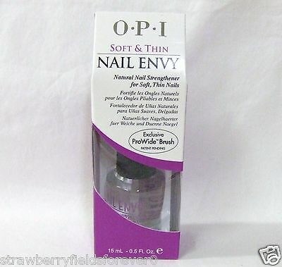 OPI Nail Treatment Strengthener Hardener ENVY Soft & and Thin  .5oz15ml