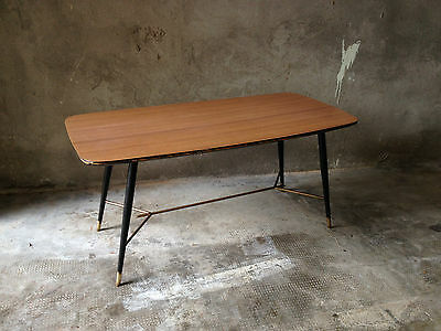 Tavolino anni 50 in formica.Vintage ant coffee table