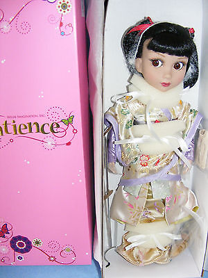 "Tonner PATIENCE Doll as Toyko Patience, Fabulous Kimono Geisha, 14"" ARTICULATED"
