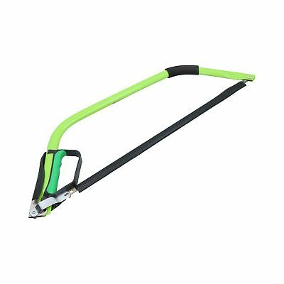 """24"""" Heavy Duty Bow Saw / Wood / Trees Blade / Branches with Finger Guard TE570"""