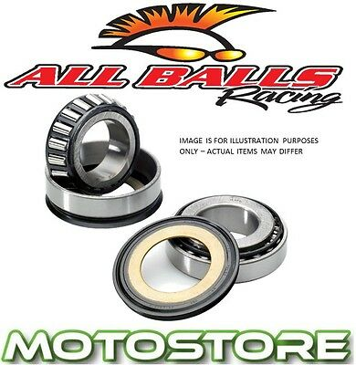 All Balls Steering Head Stock Bearings Fits Yamaha Yz125 Yz250 1996-2014