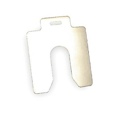 Slotted Shim, A-2x2 Inx0.050In, Pk10