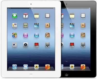 Apple iPad 4 w/ Retina Display 16GB 32GB 64GB Wi-Fi Only Excellent Condition (A)