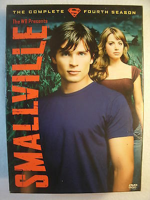 Smallville - The Complete Fourth Season (DVD, 2006, 6-Disc Set)
