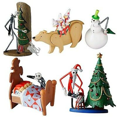 Jun Planning Nightmare Before Christmas Trading Figure Series 1 Extra Set Of 4