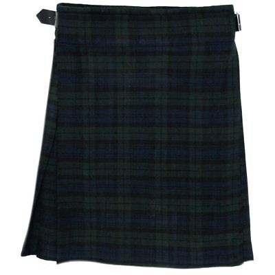 Kilt écossais Highland - tartan Black Watch - 4,6 m - 284 g