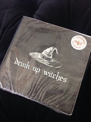 DRINK UP, WITCHES - paper napkins, HALLOWEEN party, 40 count, roobee by mara-mi