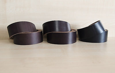 HORWEEN CHROMEXCEL LEATHER BELT & STRAP BLANKS 2.2 mm THICK VARIOUS SIZES
