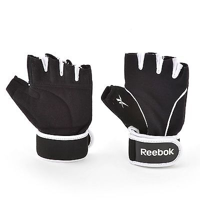 Reebok Training Gloves Weight Lifting Fitness Exercise Gym Power Workout