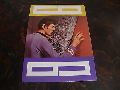 Star Trek---Spock---Greeting Card & Envelope---Let's Keep In Touch---1976