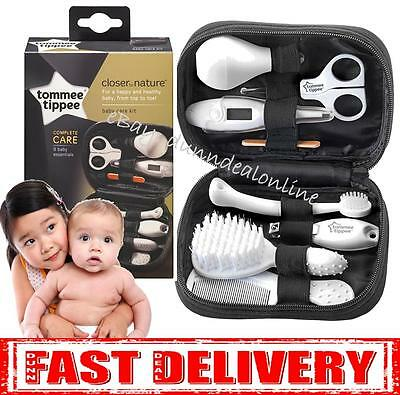 Tommee Tippee Closer to Nature Healthcare New Baby Shower Grooming Set Kit Gift