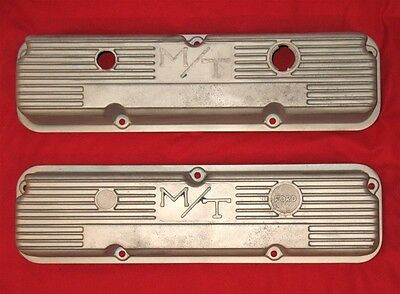 MICKEY THOMPSON Ford FE Valve Covers 103R-56 Big Block 427 360 390 Finned M/T