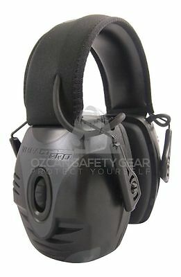 Howard Leight Impact Pro Shooting Electronic Earmuff Protection Sport R-01902