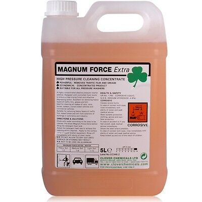 Magnum Force / EXTRA Heavy Duty Degreaser Universal Traffic Film Wash Remover