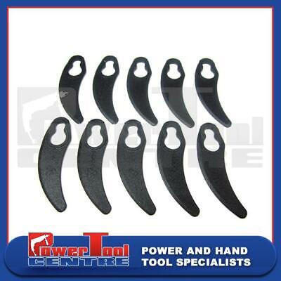 10 x Clip on Plastic Lawn Mower Blades to fit for Challenge N1F-HM-280 1000A