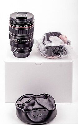 Canon EF 24-105mm F/4.0 L IS USM Lens NEW (#8858)