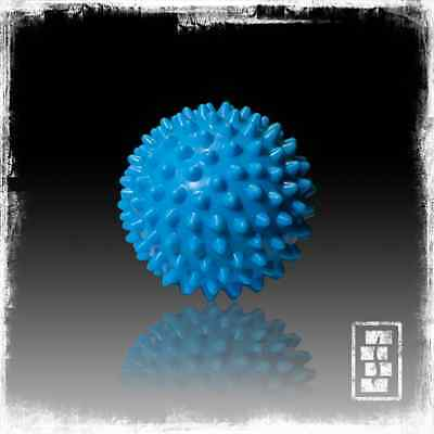 Massage Ball - Blue 9cm - Firm - Portable Muscle Relief - Trigger Point Therapy