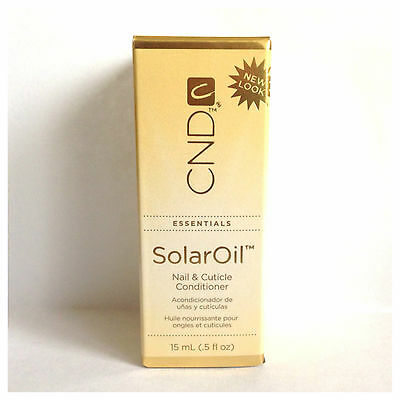 CND SOLAR OIL Nail & Cuticle Conditioner x3 15ml Bottles!!!