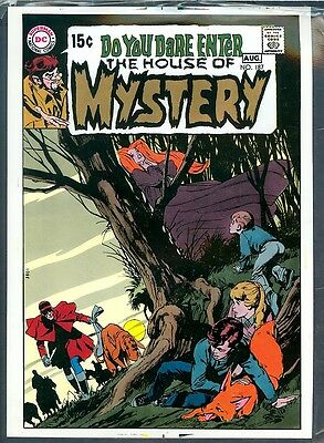 House of Mystery 187 APPROVAL COVER Classic NEAL ADAMS 1970 DC HORROR ART PROOF