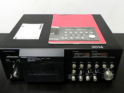 TANDBERG TCD 3014 CASSETTE DECK ONE OWNER