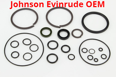 NIB Johnson Evinrude 25-40-50 HP Seal Kit Tilt and Trim System 433816 435567