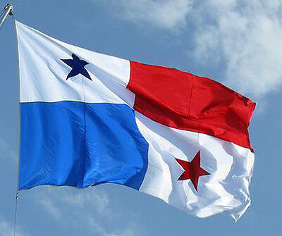 NEW 3x5 ft PANAMA PANAMANIAN FLAG