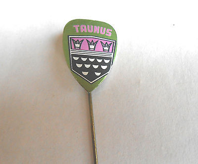Cool Vintage Ford Taunus Germany German Automobile Car Advertising Stickpin
