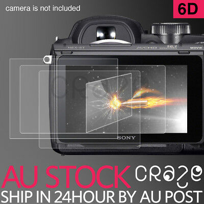 LCD high quality Premium Tempered Glass Film Screen Protector For Canon 6D EOS