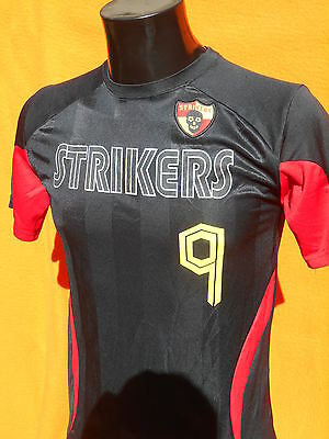 STRIKERS Maillot Jersey Maglia Camiseta C9 Champion Duo Dry Soccer Skull Foot