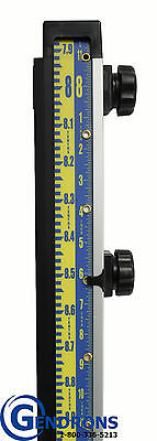 10' Laserline Direct Elevation Inches & 10Th Lenker Grade Rod,topcon,spectra