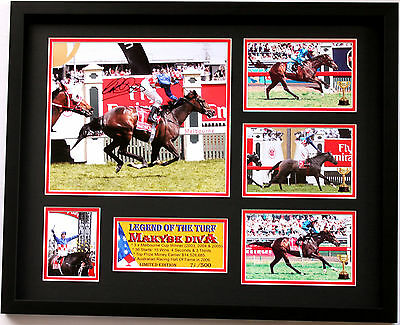 New Makybe Diva Glen Boss Signed Limited Edition Memorabilia