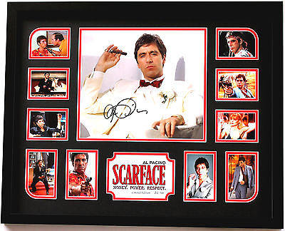 New Scarface Signed Limited Edition Memorabilia