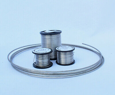 NICKEL CHROME RESISTANCE WIRE /  NICHROME all diameters 125grams