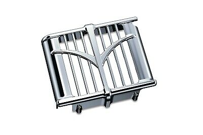Kuryakyn Chrome Oil Cooler Cover for Indian Chieftain Models