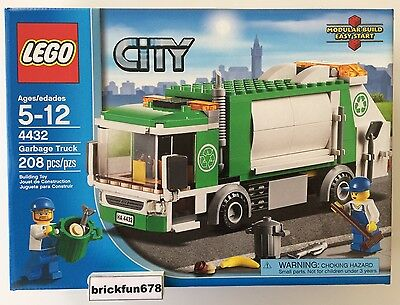 Lego City 4432 Garbage Truck New In Factory Sealed Box