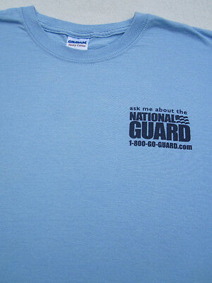 NATIONAL GUARD united states military LARGE T-SHIRT