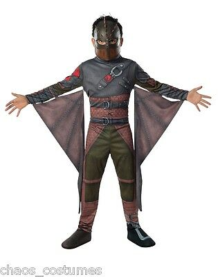 Kids Childrens How To Train Your Dragon Hiccup Complete Costume S M