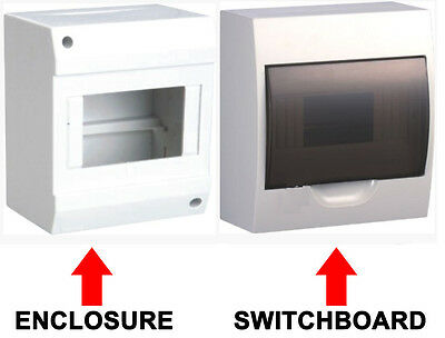 Enclosure Switch Board Distribution Box Switchboard Dinrail for MCB RCD RCBO