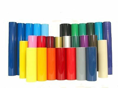 1Metre Roll Of Sticky Back Plastic Self Adhesive  Vinyl Choice Of Colours