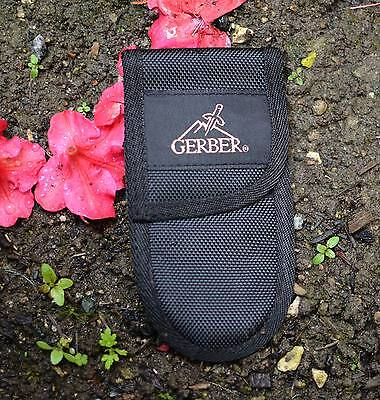 1 x 15cm x 8cm UNUSED GERBER MULTI TOOL / KNIFE POUCH NO RESERVE !  POUCH ONLY !