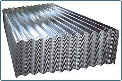 "3"" 10/3 Galvanised Corrugated Roofing Sheet, Various sizes, metal roofing, Galv"